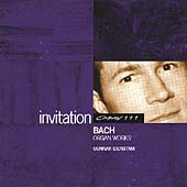 INVITATION  Bach: Organ Works / Gunnar Idenstam