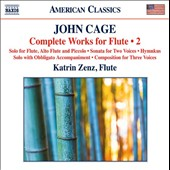 John Cage: Complete Works for Flute, Vol. 2