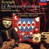 Respighi: La Boutique fantasque, etc / Dutoit, Montréal SO