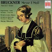 Bruckner: Mass in F minor / R&#246;gner, Berlin Radio SO, et al