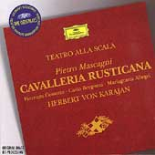 Mascagni: Cavalleria Rusticana / Karajan, Cossotto, et al