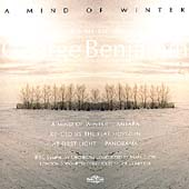 Benjamin: A Mind of Winter, etc / Benjamin, Elder, et al