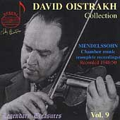 Legendary Treasures - David Oistrakh Collection Vol 9
