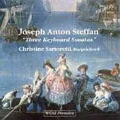 Steffan: Three Keyboard Sonatas / Christine Sartoretti