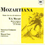Mozartiana - Mozart, Hummel, Liebmann, Wolfl/ Comberti, Cole