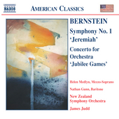 American Classics - Bernstein: Symphony no 1, etc / Judd