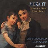 Mozart: Music for Piano, Four Hands / Reisenberg, Balsam