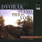Dvor&aacute;k: Piano Trios Op 26 & Op 90 / Vienna Piano Trio