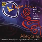 Allegories - Ticheli, Hindemith, McTee, etc