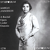 A Recital - Donizetti, Debussy, Handel / Marian Anderson