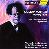 Mahler: Symphony no 10 / Gielen, SWR Sinfonieorchester
