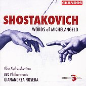 Shostakovich: Words of Michelangelo / Noseda, et al