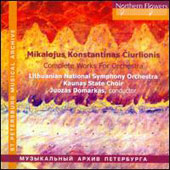 Mikalojus Ciurlionis: Complete Works for Orchestra / Lithuanian National SO; Kaunas State Choir - Domarkas
