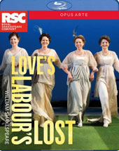 William Shakespeare: Love's Labour's Lost (Recorded live at the Royal Shakespeare Theatre, Stratford-upon-Avon, March 2015) [Blu-ray]