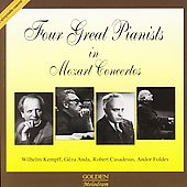 Four Great Pianists in Mozart Concertos - Kempf, Anda, et al