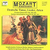 Mozart, W.a.: Deutsche Tsnze / German Dances