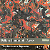 The Beethoven Mysteries - Concerti, etc /Blumental, Waldhans