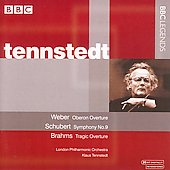 Weber, Schubert, Brahms / Tennstedt, London PO