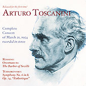 Arturo Toscanini - Complete Concert of March 21, 1954