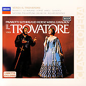 Verdi: Il Trovatore / Bonynge, Pavarotti, Sutherland, Horne