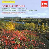 EMI American Classics - Aaron Copland / Mata, Davies, B&aacute;tiz, Hubbard, et al
