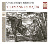 Telemann in Major - Concerti, etc / Pavel Serbin, Pratum Integrum Orchestra, et al
