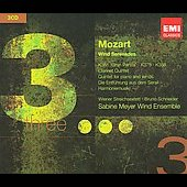 Triples - Mozart: Wind Serenades, etc / Schneider, Sabine Meyer Wind Ensemble, et al