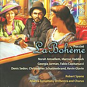 Puccini: La Boh&egrave;me / Spano, Amsellem, Haddock, Jarman, Atlanta Symphony Orchestra, et al