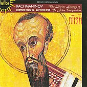 Rachmaninov: The Liturgy of St. John Chrysostom / Best, Scorer, Corydon Singers