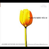 Johann Christian Schickhardt (c.1683-1762): Six concertos for four flutes and basso continuo / Flautando Koln