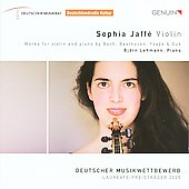 Works for Violin & Piano by Bach, Beethoven, Ysa&#255;e & Suk