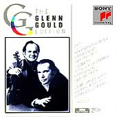 Glenn Gould Edition - Bach: Sonatas for Violin & Harpsichord