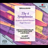 Brahms: The 4 Symphonies / Kurt Masur