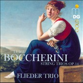Boccherini: String Trios, Op. 14 / Flieder Trio