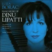 Piano Music of Dinu Lipatti / Luiza Borac, piano
