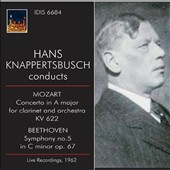 Mozart: Clarinet Concerto; Beethoven: Symphony No. 5 / Wolfgang Schloder, clarinet; Knappertbusch (live 1962)