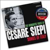The Romantic Voice of Cesare Siepi: Songs of Italy by Nicolardi, Cesarini, de Curtis, Brogi, Denza, Marini, Giacomo, Tosti, Mozart, Gomes et al. (24-bit/192 kHz transfer)