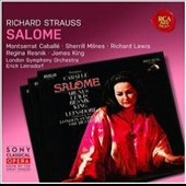 Richard Strauss: Salome / Montserrat Caballé, Sherrill Milnes, Richard Lewis, Regina Resnik, James King. London SO, Leinsdorf