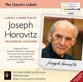Joseph Horovitz (b.1926): Clarinet Chamber Music - Sonatina; Arabesque; Two Majorcan Pieces; Concertante; 'Paganini' Variations; Jazz Suite / Soames Samek, clarinet; Michael Bell, piano; Bingham String Quartet, ReedPlay