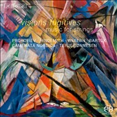 Visions Fugitives: Music for String Orchestra by Prokofiev, Hindemith, Weber & Bartok / Camerata Nordica, Tonnesen