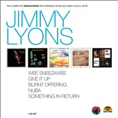 Jimmy Lyons: The Complete Remastered Recordings on Black Saint & Soul Note