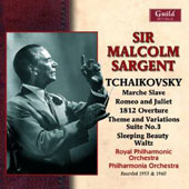 Tchaikovsky: Marche Slave; Romeo and Juliet Overture; et al. / Royal PO; Philharmonia Orch.; Sir Malcolm Sargent (rec. 1955 & 1960)