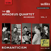The RIAS Amadeus Quartet Recordings, Vol. 5: Romanticism; Works by Brahms, Bruckner, Dvorak, Verdi / RIAS Amadeus Quartet