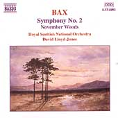 Bax: Symphony no 2, etc / Lloyd-Jones, Royal Scottish