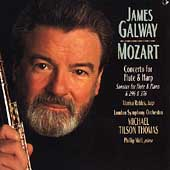 Mozart: Concerto for Flute and Harp, etc / Galway, Thomas