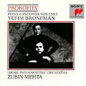 Prokofiev: Piano Concertos 1, 3 & 5 / Bronfman, Mehta