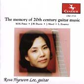 The Memory of 20th Century Guitar Music / Hyewon Lee