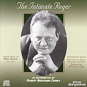 The Intimate Reger / Robert Benjamin Dobey