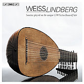 Weiss: Lute Sonatas, etc / Jakob Lindberg