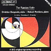 The Russian Violin / Christian Bergqvist, Roland Pöntinen